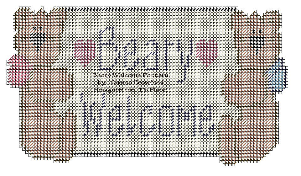 Beary Welcome Pattern