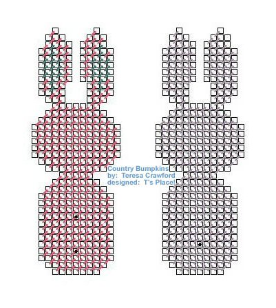 Country Bumpkins Bunnies Pattern