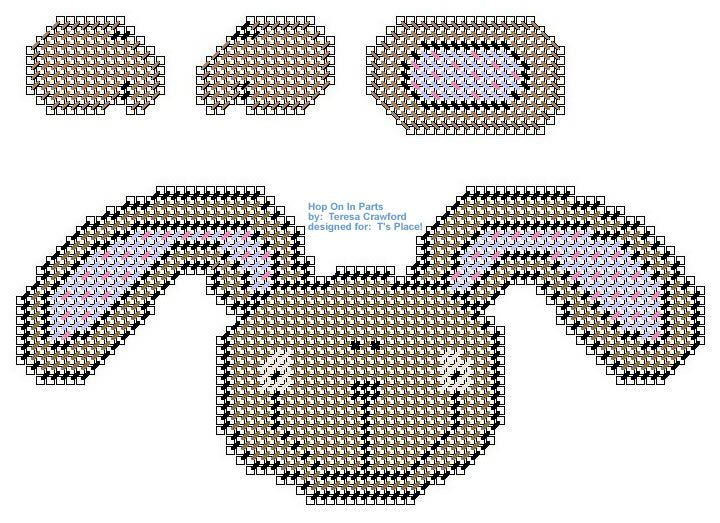 Hop On In Parts Pattern