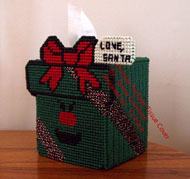 Holiday Package Tissue Cover